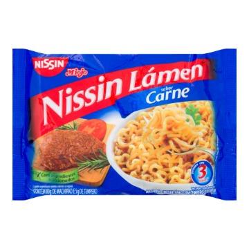 Macarrão Instantâneo NISSIN Sabor Carne 85g