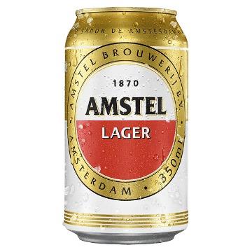 Cerveja Amstel Pilsen Lager 350ml - 1 Unidade