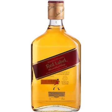 Whisky Escocês JOHNNIE WALKER Red Label Garrafa 350ml - Unidade