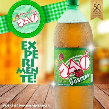 Refrigerante Jaó 2 Litros Guaraná 1 Unidade