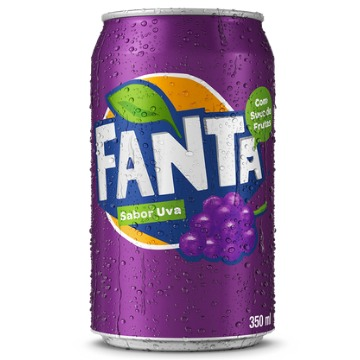 Refrigerante FANTA Uva Lata 350ml 1 Unidade