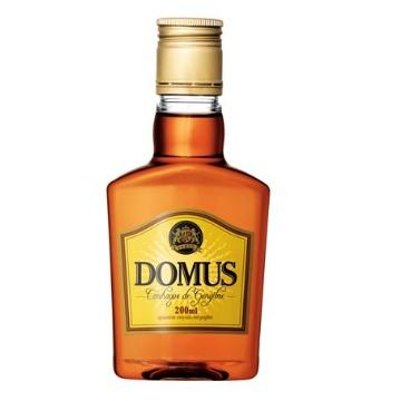 Conhaque Domus Embalagem de Bolso 200 ml - 1 Unidade