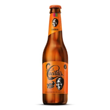 Cerveja Cacildis Premium Lager Long Neck 355 mL