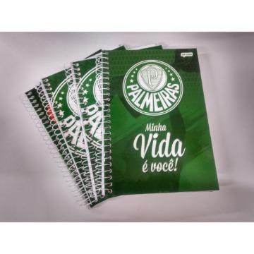 Caderno Espiral  Palmeiras Fsc