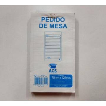 CAD TALONADO PEDIDO MESA (2VIAS) 50X2FL