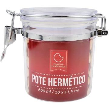 POTE HERMETICO PLASTICO 10X11