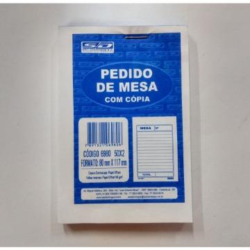 PEDIDO DE MESA COM 50X2 80X117 COM CARBONO