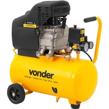 COMPRESSOR VONDER 7,6 / 24 LITROS 127v MCV076