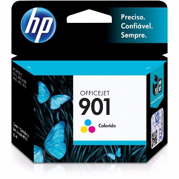 Cartucho HP 901 Color CC656AB
