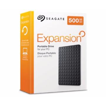HD Externo 500GB Seagate Expansion STBX500600 Preto (USB 3.0)