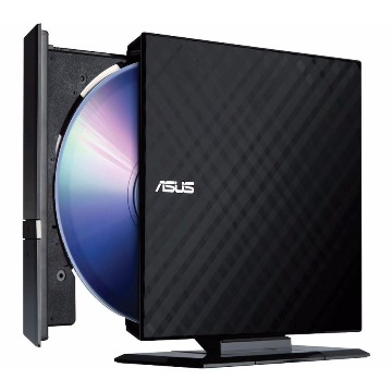 Gravador DVD Externo ASUS SDRW-08D2S-U Preto
