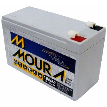 Bateria para No-break 12V 7Ah selada Moura