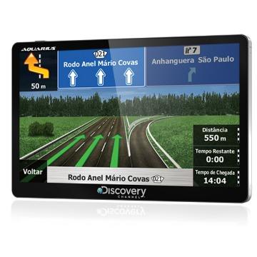 Aparelho GPS Discovery Channel 5.0 TV Digital