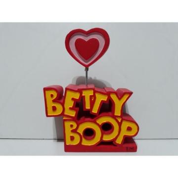 PORTA RETRATO BETTY BOOP EM RESINA