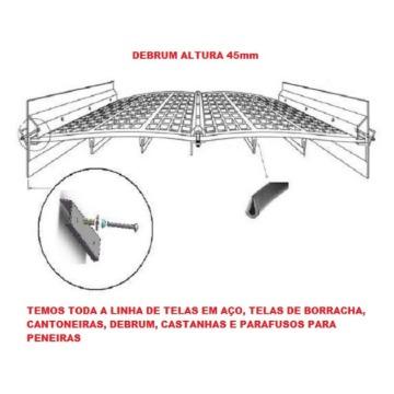 """DEBRUM DE PROTEÇAO 45mm x 15mm x 25mm x 3/8"""" - ROLO DE 25 METROS"""