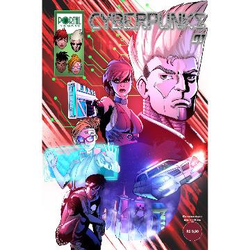 Cyberpunks #01 - Edição Digital (com extras incluso)