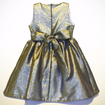 f2a3274bd LOVEET - vestido shantung saia renda bordada amarelo - Loveet