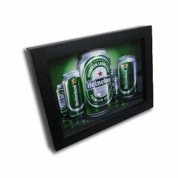 Quadro-Latas de Cerveja-18x24-Preto-1033