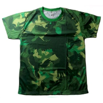 Camiseta camuflada verde - Maritaca Expeditions