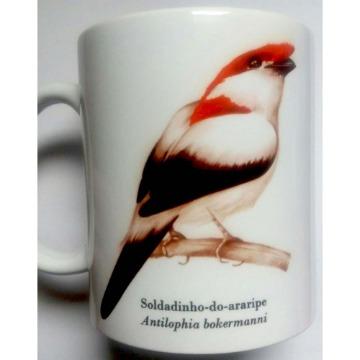Soldadinho-do-Araripe - caneca de porcelana