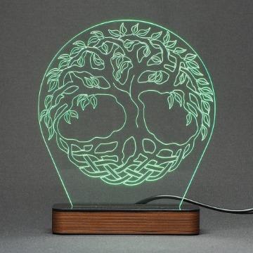Árvore da Vida - Luminária Acrílico e Led