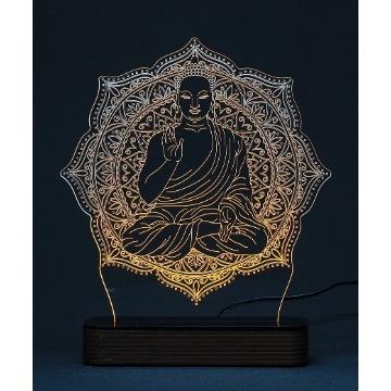Buda - Luminária Acrílico e Led