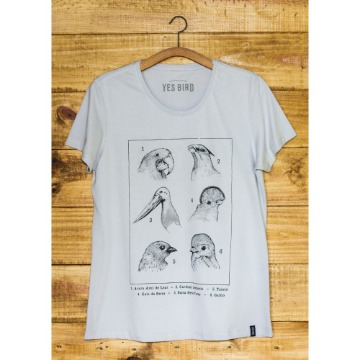 Camiseta Aves e Biomas - Yes Bird