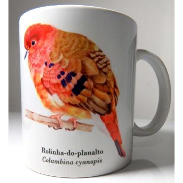 Rolinha-do-Planalto - caneca de porcelana