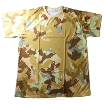 Camiseta camuflada bege - Maritaca Expeditions