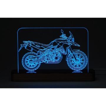 Moto Trail - Luminária Acrílico e Led