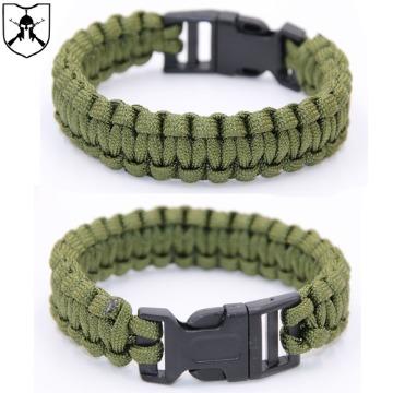 Bracelete Paracord Verde