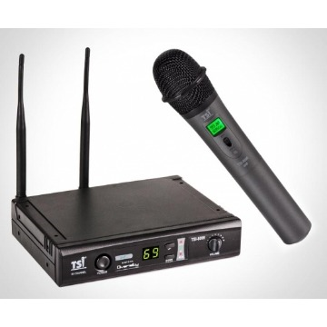 MICROFONE TSI S/ FIO 8099 UHF MULT CANAIS