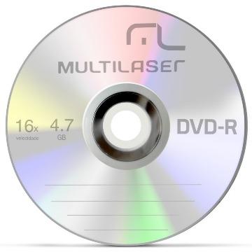 MIDIA DVD MULTILASER D-016X