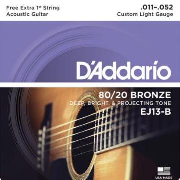 ENCORDOAMENTO VIOLAO ACO 011 DADDARIO EJ13-B