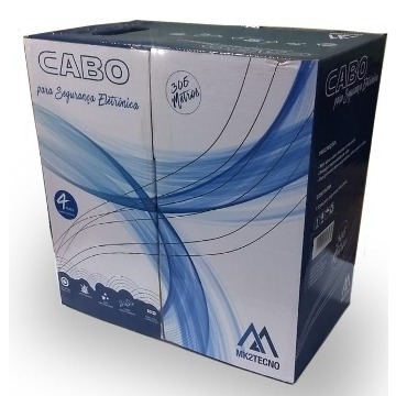 CABO DE REDE CAT5 AZUL CFTV 305M MK2TECNO