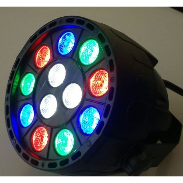 REFLETOR LED 3W PAR 24 AH-2079 RGB DMX AH LIGHTS