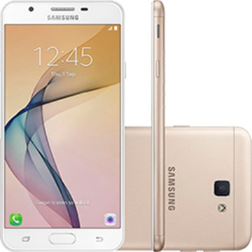 "Smartphone Samsung Galaxy J7 Prime Dual Chip Android Tela 5.5"" 32GB 4G Câmera 13MP"