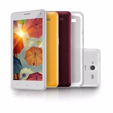 Smartphone Ms50 Branco Colors Quadcore 16gb Lollipop 5 Nb221