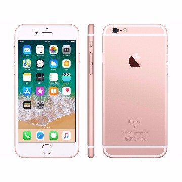 "iPhone 6s Apple 64GB Ouro Rosa 4G - Tela 4.7"" Retina Câmera 5MP iOS 11 Proc. A9 Wi-Fi"