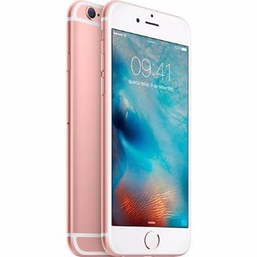 iPhone 6s 64GB Rose Tela 4.7 iOS 9 4G 12MP
