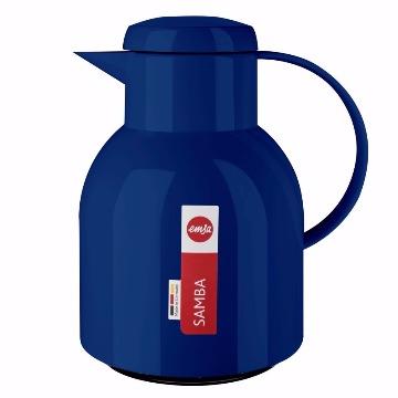 Garrafa Térmica Samba Azul 1L
