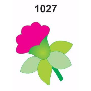 1027 – Molde PVC –  Flor