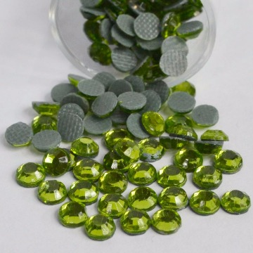 Strass 4mm – Verde Claro  - 200 uni