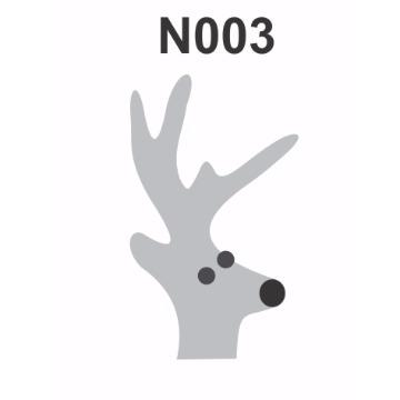 N003 - Molde PVC – Rena