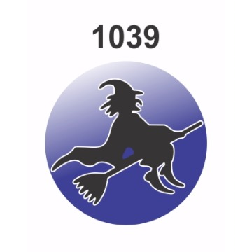 1039 – Molde PVC –  Bruxa