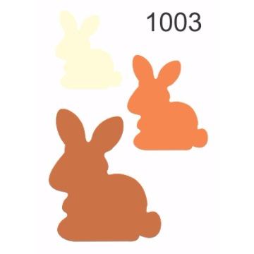 1003 – Molde PVC –  Coelhos