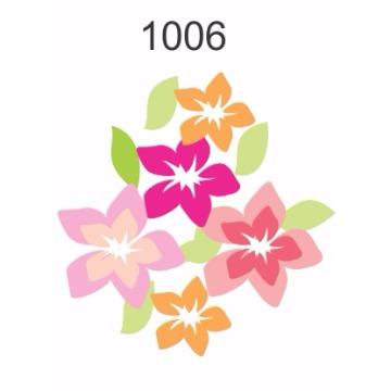 1006 – Molde PVC –  Flores 1