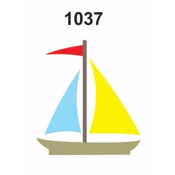 1037 – Molde PVC –  Barco