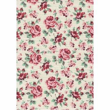 Tecido - E527 - Floral Helena - Termodinamico Fast Patch
