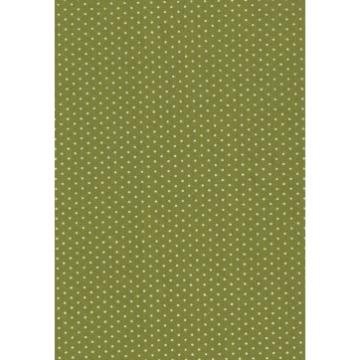 Tecido P314 - Verde Claro e Branco -  Termocolante - Fast Patch